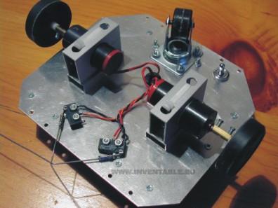 Robot a transistores - Parte 3