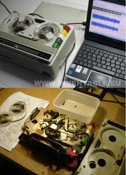 grabador de cinta Geloso del 1965