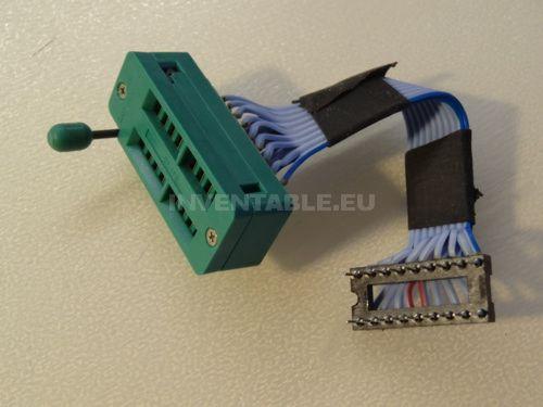 Zócalo ZIF para proyectos con microcontroladores.