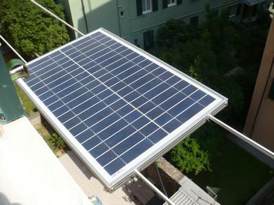 Panel foto-voltaico de 12V