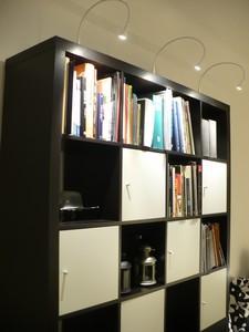 Otra librería iluminada con leds