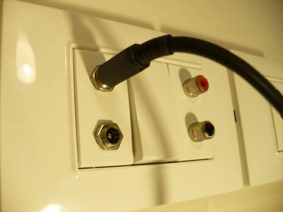 Conectores de 12V en la instalación