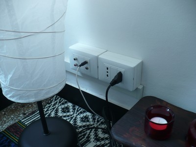 cajas para tomas eléctricos