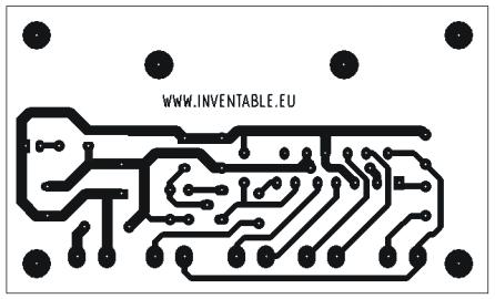 Diseño del circuito impreso del amplificador ultracompacto