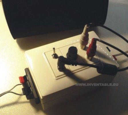 Foto de amplificador ultracompacto