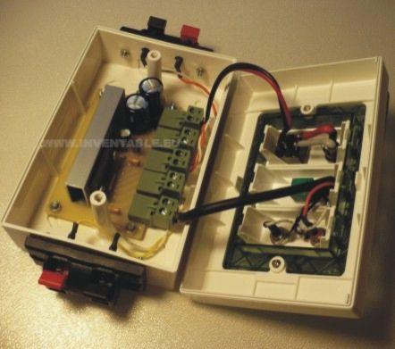 Cableado del amplificador