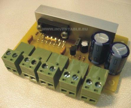 Foto del amplificador montado