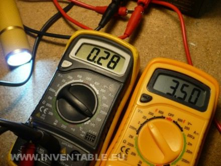 Medición con tester de la corriente 3