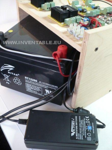 Batería del sistema fotovoltaico y fuente de reserva