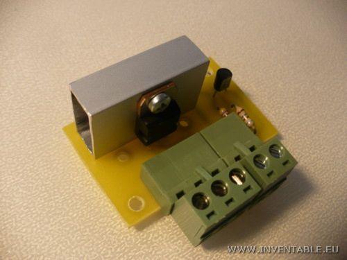 Foto del driver para LEDs completo