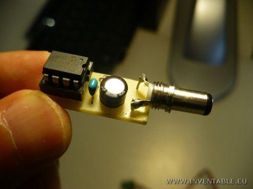 Foto de la llave electrónica