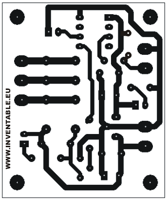Circuito impreso de la base
