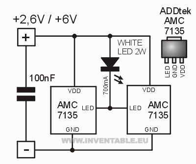 circuito electrónico completo