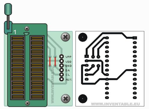 Programador de microcontroladores Pics | Inventable