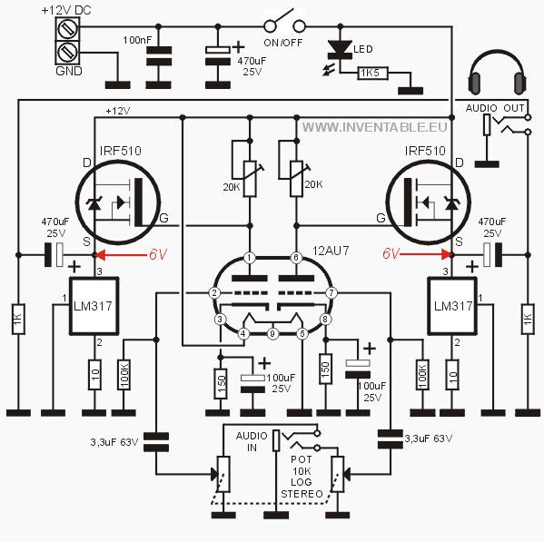 Circuito del amplificador