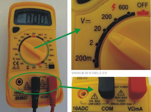 Conectar LEDs a 9v