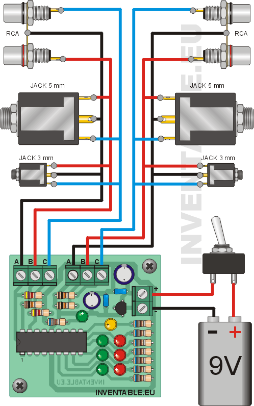Probador De Cables on arduino wiring