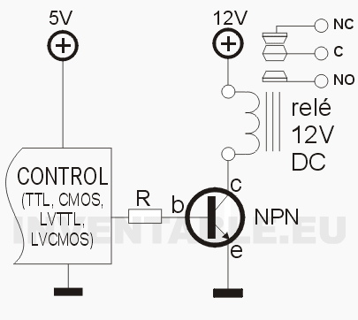 Musical Bell moreover 1955 1956 1957 Chevrolet Turn Signals together with Controlar Rele Con Transistor besides Schematic Threads Ex le moreover Flip Flop  electronics. on simple relay circuit