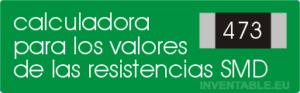 Programa online que permite de conocer el valor de una resistencia SMD en base al código impreso en el cuerpo. Funciona con todo tipo de códigos, inclusive el EIA-96.