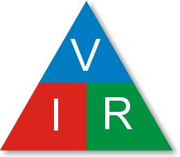El triángulo de la ley de Ohm permite de recordar las relaciones entre las magnitudes que intervienen en ella. Para conocer un valor, se tapa la letra correspondiente y las dos letras que quedan indican su relación.