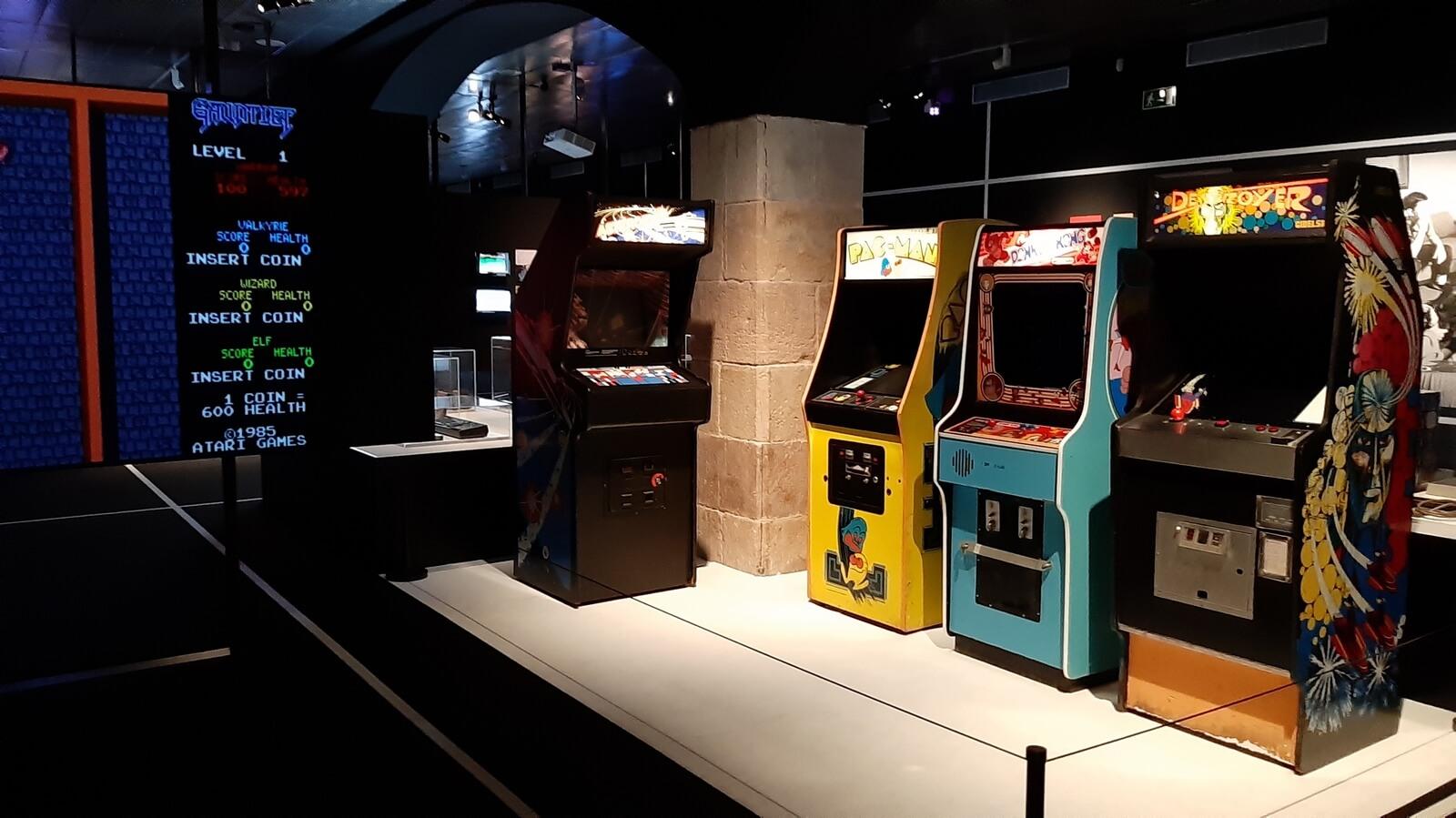 Exhibición GamePlay en el CCCB de Barcelona